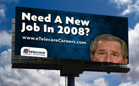eTelecare Recruitment Billboard
